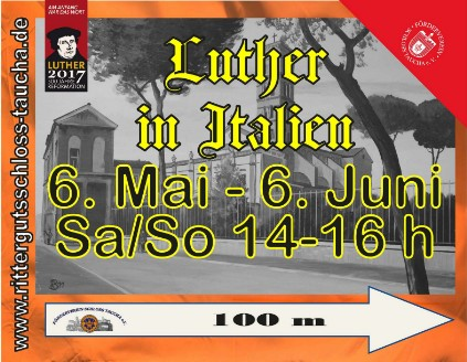 2017 - Plane LUTHER IN ITALIEN